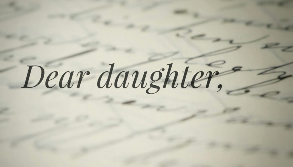 A Letter To Daughter From Dad Rhema International