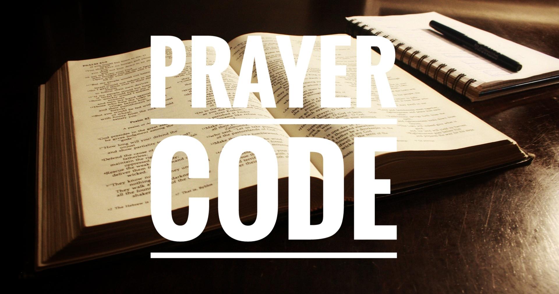 prayer code