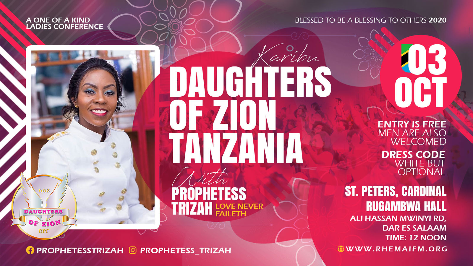 Daughters of Zion Event - Tanzania