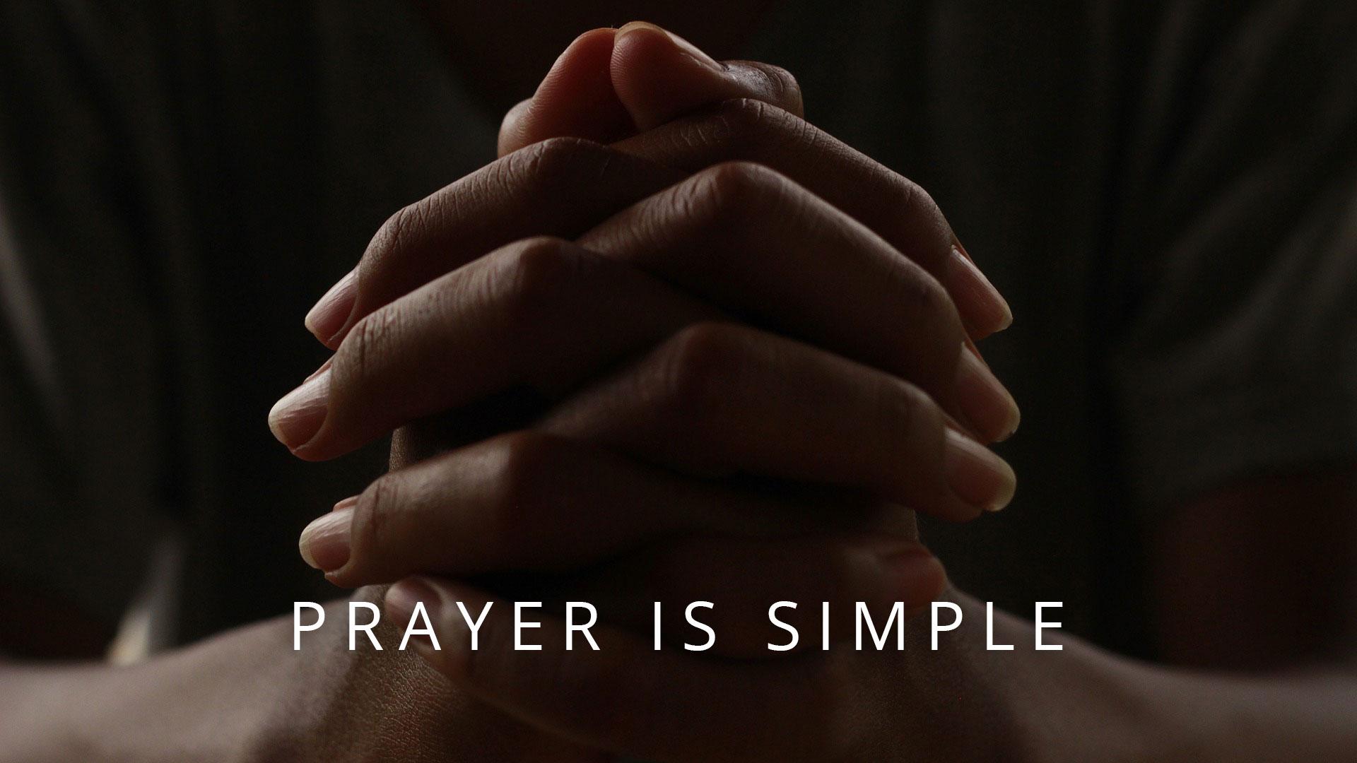 prayer-is-simple